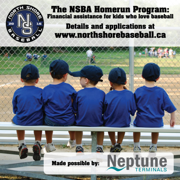 NSBA Homerun Program Sign